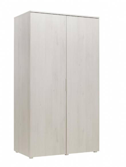 Whitewashed Cherry Wardrobe 2 Door